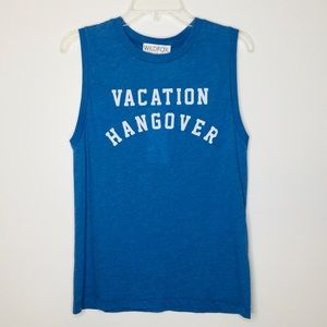 Wildfox Vacation Hangover Tank NWT